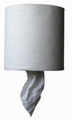 White Center Pull Towels