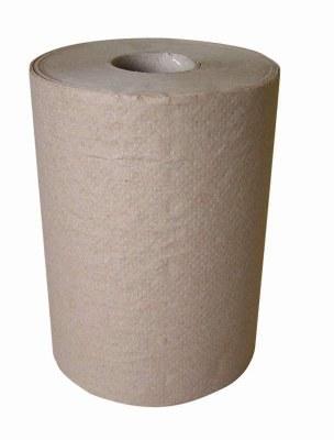 Natural Brown Roll Towel 6x1000'