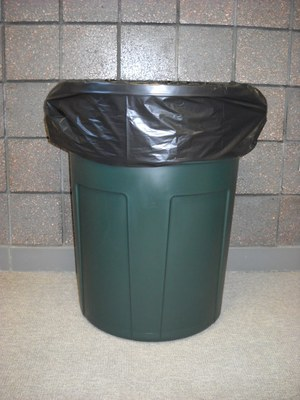 55 Gallon Trash Can Liner - Black