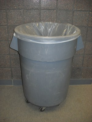 55 Gallon Trash Can Liner - Clear